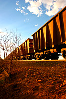 Iron ore carriages